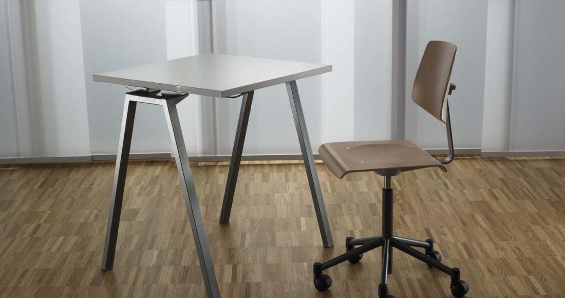 Schultisch mit stuhl  CAMPUS Tisch für Schule, Seminar und Lernatelier - NOVEX Möbelbau