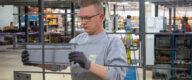 Prüfung neue Gehänge für Pulverbeschichtung
